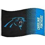 NFL Fahne Flagge CAROLINA PANTHERS Fade Football