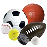 Planet Dog Orbee-Tuff Sport Football Spielzeug für Hunde – Höhe ca. 15,2 cm - 5