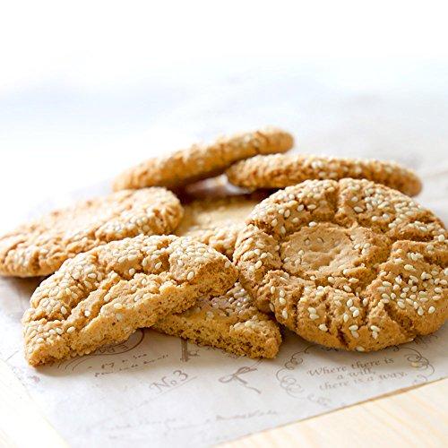 お菓子 クッキー 業務用 てんこ盛りサイズ! ごまクッキー (胡麻酥) 60枚