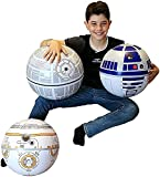 Large Play Balls Set of 3 - Fun Indoor and Outdoor Gift - Can Use for Play/Room Decor/Party Decor/Pool Inflatable Water Toys