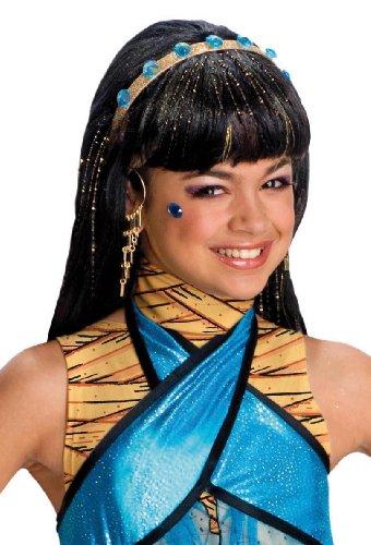 Rubies Costume Co Monster High Cleo De Nile Girls Wig (peluca)