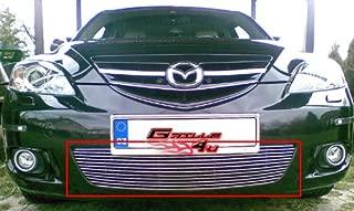 APS Compatible with 04-06 Mazda Mazda 3 Hatchback Sport Lower Bumper Billet Grill N19-A73266M