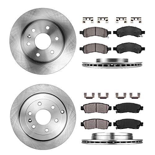 CRK14002 Rotors, Brake Pads, & Clips
