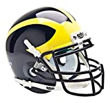 Schutt NCAA Michigan Wolverines Mini Authentic Football Helmet, Classic