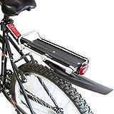 Gubbarey Rear Bike Rack Bicycle Cargo Rack Quick Release Adjustable Alloy Bicycle Carrier