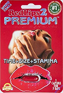 Red Lips 2 Premium Improved Formula Male Enhancement pill (1)