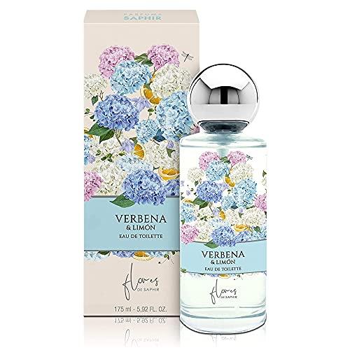 Saphir Parfums Agua fresca Verbena y limón - 175 ml.