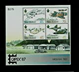 Stamps Die-cut Miniature sheet Stamps of New Zealand