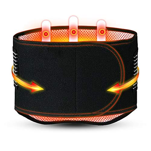 ZFF Auto-Calentamiento Soporte Lumbar Cinturón Inferior Atrás Apoyo Dolor Alivio Atrás...