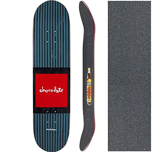 チョコレート CHOCOLATE スケートボード デッキ ALVAREZ POP SECRET DECK NO217 (8.0インチ, 7プライ)