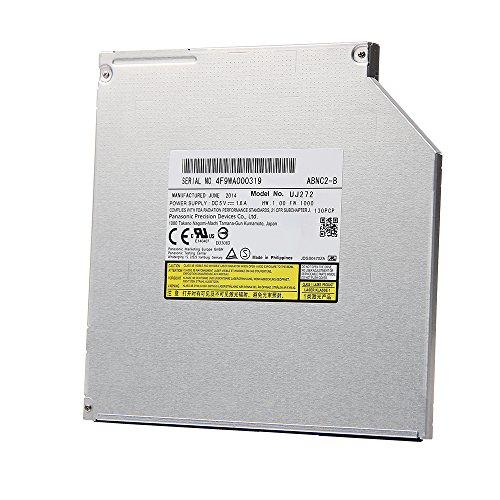 Panasonic UJ-272 UJ272 9.5mm SATA 6X 3D Blu-ray Burner BD-RE BDXL DL Dual Layer Bluray Recorder Super Slim Internal Optical Drive Supports 100GB 128GB