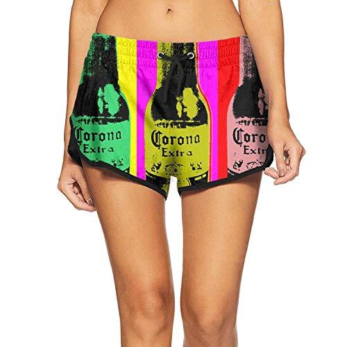 Bañador impermeable para mujer con bolsillos Corona Extra Beer-15 S