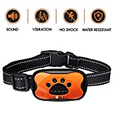 No shock Bark control Dog Collar