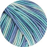 Lana Grossa Cool Wool - Gomitolo di lana con stampa 728