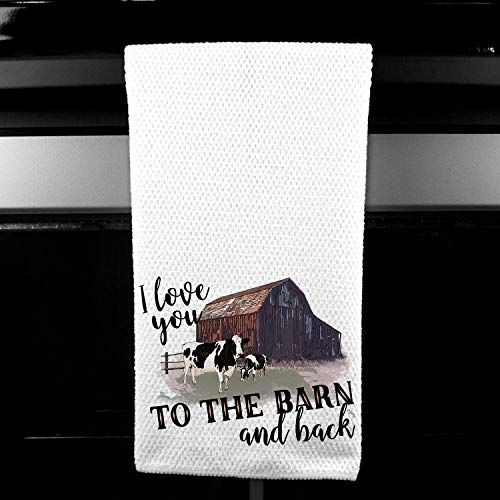 Love you to the Barn and Back Farm Gift for Friend Girlfriend Wife