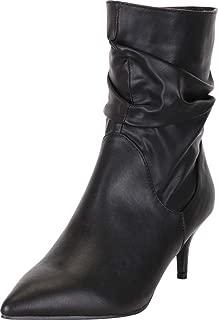 Best kitten heel ruched boots Reviews