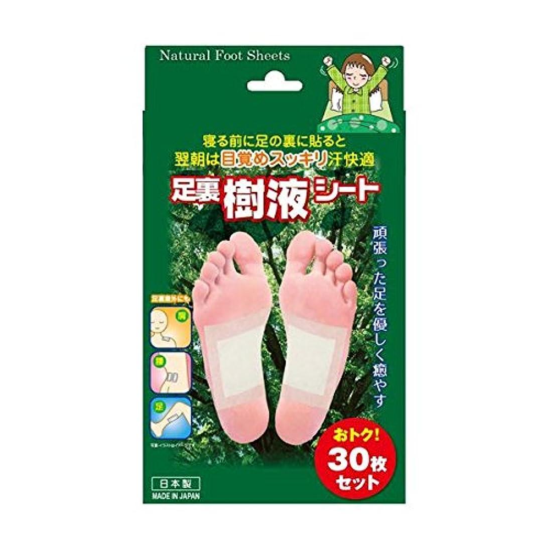 形状消費する歯科医(お徳用2セット)トプラン 足裏樹液シート 30枚入×2セット
