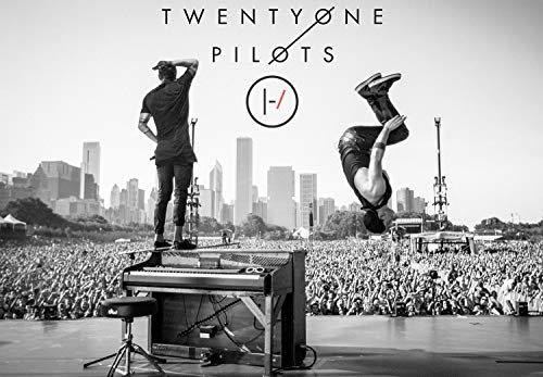 Rock-Poster 21 BlurryFace Posters and Prints Unframed Wall Art Gifts Decor - Tyler shoots and Josh Back Flips off Tyler