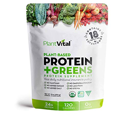 New! Plant Based Protein Powder w 1…