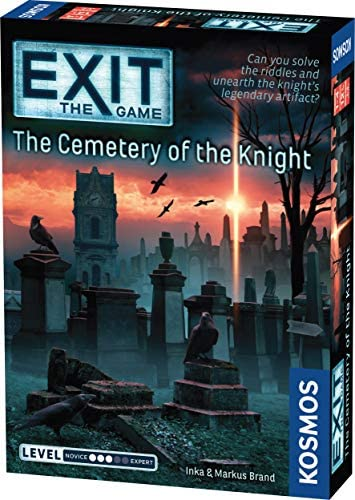 Thames Kosmos EXIT The Cemetery of The Knight Escape Room Game in a Box EXIT The Game A Kosmos product image