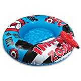 Poolmaster Bump N Squirt Swimming Pool Tube With Action Squirter, Blue