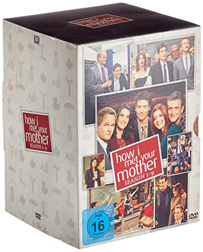 How I Met Your Mother - Season 1-9 [27 DVDs]