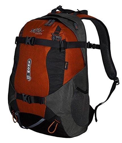 Zaino TASHEV Snow 33in Cordura® Snowboard con Teflon, grigio-arancione (arancione) - SNOW 33