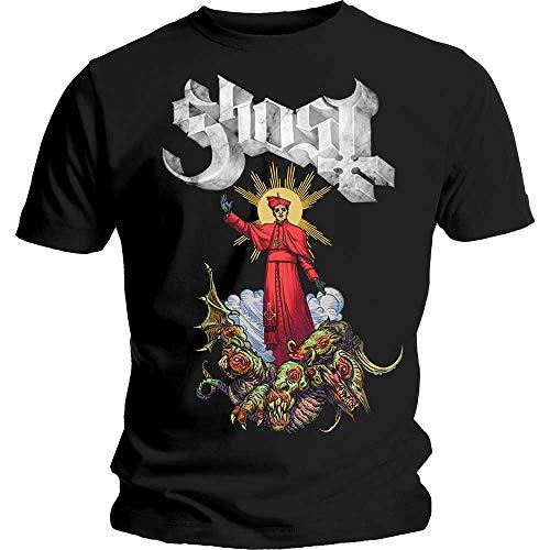 T-Shirt # S Black Unisex # Plague Bringer [Import]