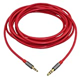 2.5mm Male to 3.5mm Male Stereo Audio Cable Aux Cable - 9.8 Feet (3 Meters)
