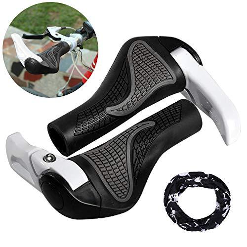 Puños Bicicleta Ergonomicos con Máscara