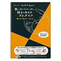 マルマン 図案スケッチブック OneDay B4 Vol2 ちきゅうとあそぼう S521 【まとめ買い5冊セット】