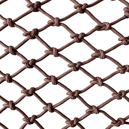 Red de Cuerda Decorativa para Interior o Exterior, Cuerda Neto De Protección De Niños Seguridad Cuerda Net - Barandilla Valla Barandilla Decorativa De Malla Utilizada For La Red De Contenedores Patio