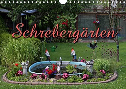 Schrebergärten (Wandkalender 2021 DIN A4 quer)