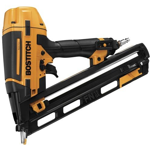 BOSTITCH Finish Nailer Kit, 15GA, FN Style with Smart Point...