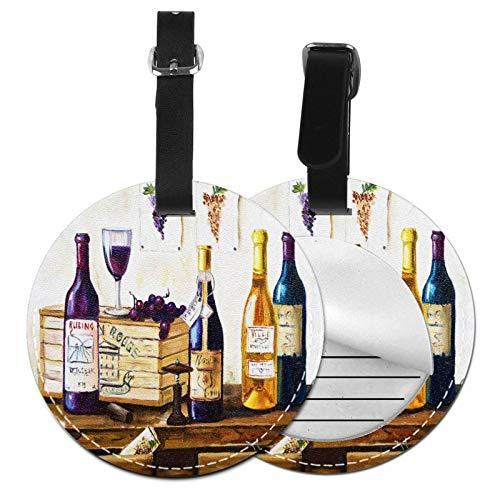 Bodegon De Botella De Vino