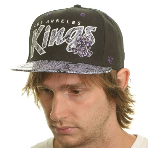 47 Brand - Casquette Snapback Homme Los Angeles Kings King Cobra - Black