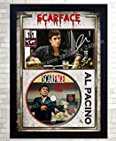 SGH SERVICES Gerahmtes Poster Scarface Al Pacino, mit