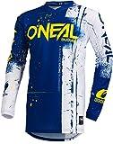 O'NEAL Element Shred FR Youth Kinder Jersey Trikot lang blau/weiß 2019 Oneal: Größe: M (116-134)