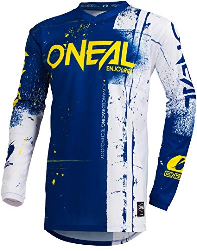 O'NEAL Element Shred FR Youth Kinder Jersey Trikot lang blau/weiß 2019 Oneal: Größe: M (116-134)