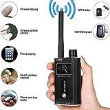 Anti-Spy GPS Signal Jammer, RF Tracker, WiFi GSM Detector,Hidden Camera/Bug Finder Device, Black