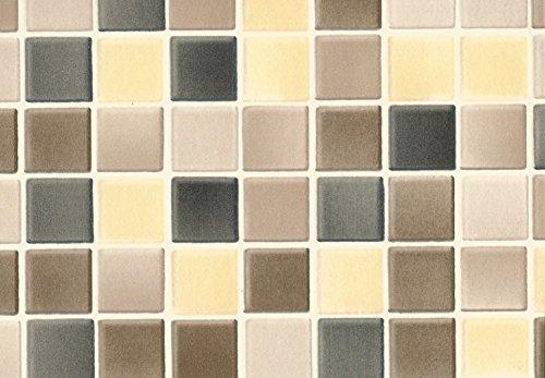 Hornschuch Wandbelag Naturstein Carrara Ceramics Fliesen Tapete PVC Belag Meterware NEU