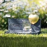 Trixie 38417 - Lavagna commemorativa Memory, 20 x 12 x 7 cm, Colore: Grigio...