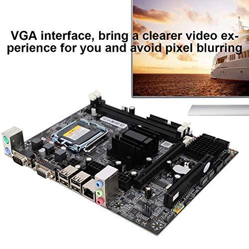 Wendry moederbord, VGA Interface Desktop moederbord, voor Intel G41M LGA775 DDR3 1066/1333MHz Computer moederbord, PCB Materiaal Moederbord