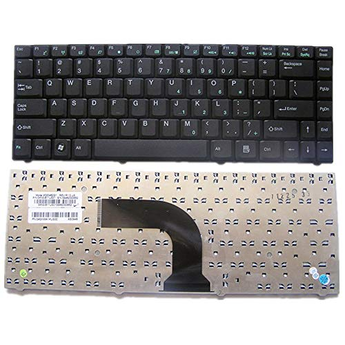 Teclado del Ordenador portátil para For ASUS W3000 W3A W3J W3N W3V W3Z Color Negro Versión Estadounidense