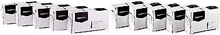 AmazonBasics Jumbo Paper Clips, Smooth, 100 per Box, 10-Pack - A7072556 & No. 1 Paper Clips, Smooth, 100 per Box, 10-Pack (A7072310)