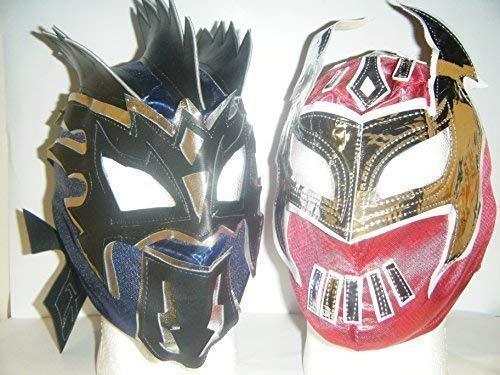 Kalisto Bleu et Rouge Sin Cara – pour masques à fermeture éclair