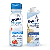 Ensure Surgery Perioperative 5-Day Bundle with 3 Ensure Pre-Surgery Clear Carbohydrate Drinks & 20 Ensure Surgery Immunonutrition Shakes