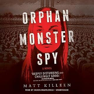 Orphan Monster Spy audiobook cover art