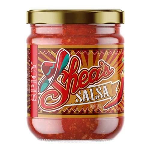 Shea's Salsa - Best Flavored Fresh Addictive Authentic Mexican Hot Spicy Chips and Salsa Dip for Tostitos/Doritos Tortilla Corn Chips, Breakfast Tacos Sauce, Nachos, Party Snacks, Meals or Dishes