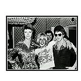 DuanWu David Bowie Mit Iggy Pop Star Geschenk Malerei